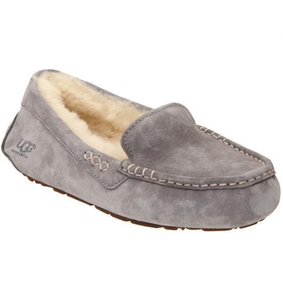 UGG Ansley Light Grey Suede 3312-LGRY (Women's)