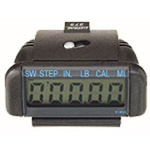 Ultrak 275 Electronic Calorie Pedometer Black 275