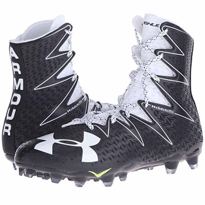 7dbcca2a0da black and white under armour highlight cleats cheap   OFF79% The ...