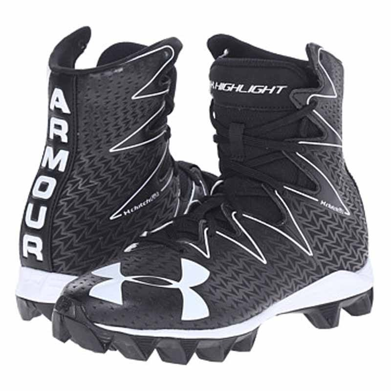 5dde37286a58 Under Armour Highlight RM JR Black   White 1269697-001 (Youth). Loading zoom