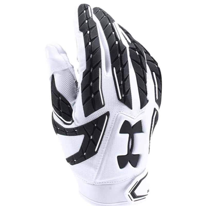 all white under armour gloves