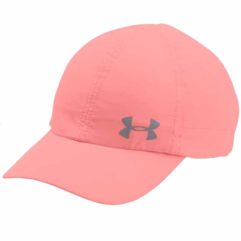 Under Armour Fly By AV Cap Cape Coral   Silver 1291073-980 ... a67df702358
