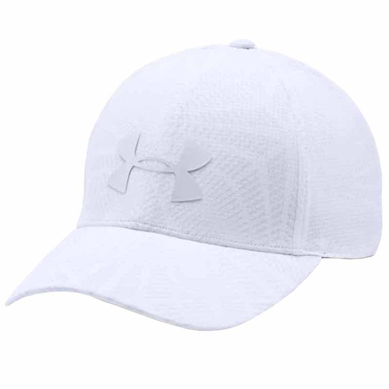 Under Armour Driver Cap 2.0 White   Steel 1291837-100. Loading zoom 84abf3d1938