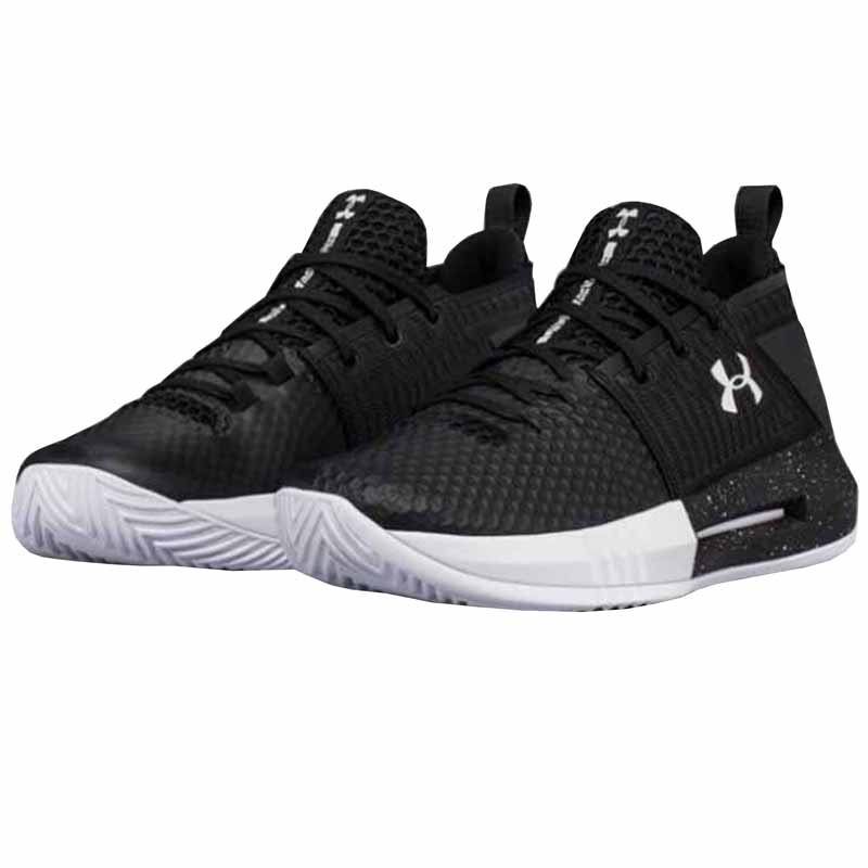 51017258b11 Under Armour Drive 4 Low White   Black 3000086-103 (Unisex). Loading zoom