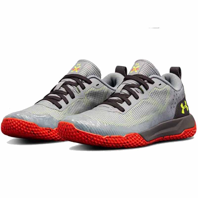 Under Armour Bgs X Level Mainshock Steel Red 3000144 102