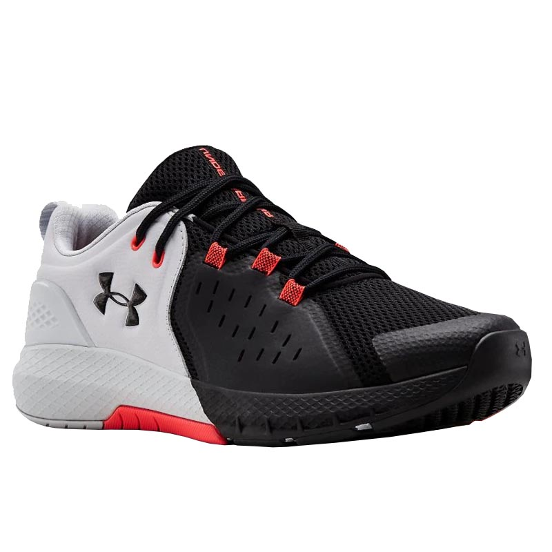 size 40 0814a 1aa36 Under Armour Charged Commit TR 2.0 Halo Gray/ Black 3022027-101 (Men's)
