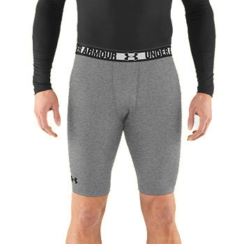 Under Armour HG Sonic Long Comp Grey / Black 1236240-025 (Men's)