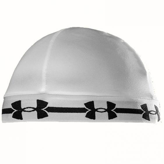 Under Armour Original Skull Cap White / Black 1238781-100