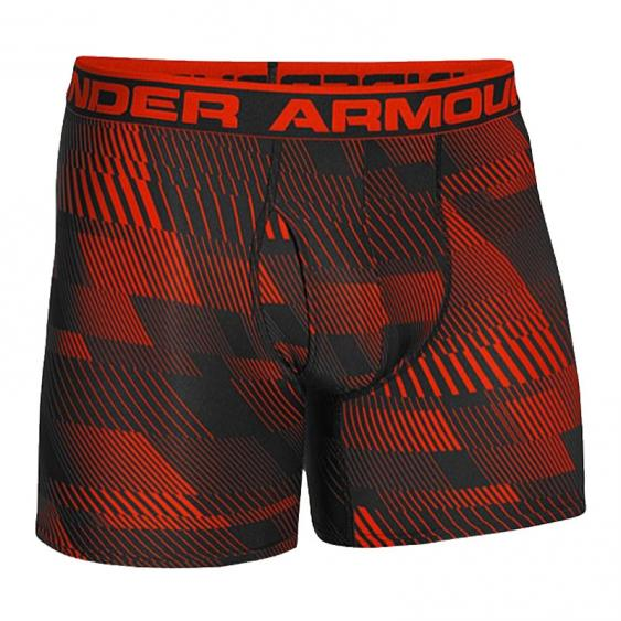 Under Armour Original 6-in Print Boxer Red/ Blk 12374812-839 (Men's)