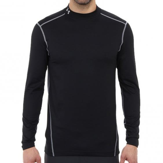 Under Armour EVO CG Fitted LS Mock Black 1248945-001 (Men's)