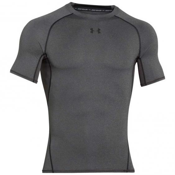 Under Armour HG SS Tee Carbon 1257468-090 (Men's)