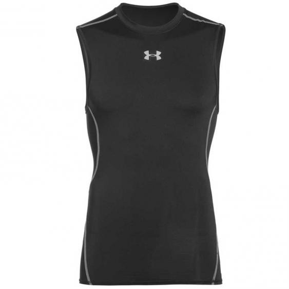 Under Armour HG Sleeveless Tee Black 1257469-001 (Men's)