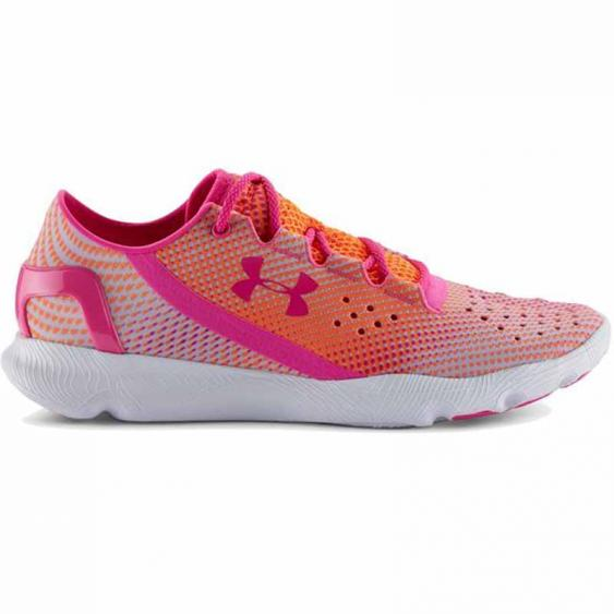 Under Armour Speedform Apollo Pixel Orange / Pink 1268339-831 (Women's)