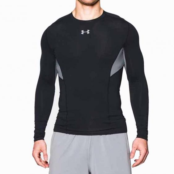 Under Armour HG Coolswitch LS Tee Black 1275057-001 (Men's)
