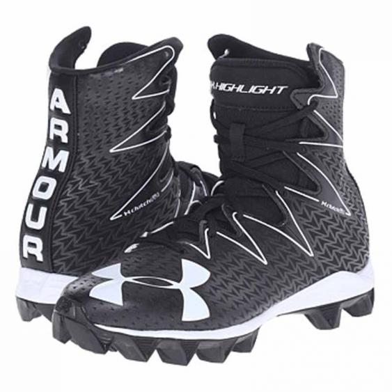 Under Armour Highlight RM JR Black / White 1269697-001 (Youth)