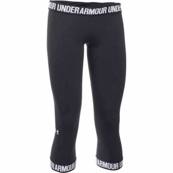 Under Armour Favorite Capri Wordmark Black 1287130-001 (Women's)