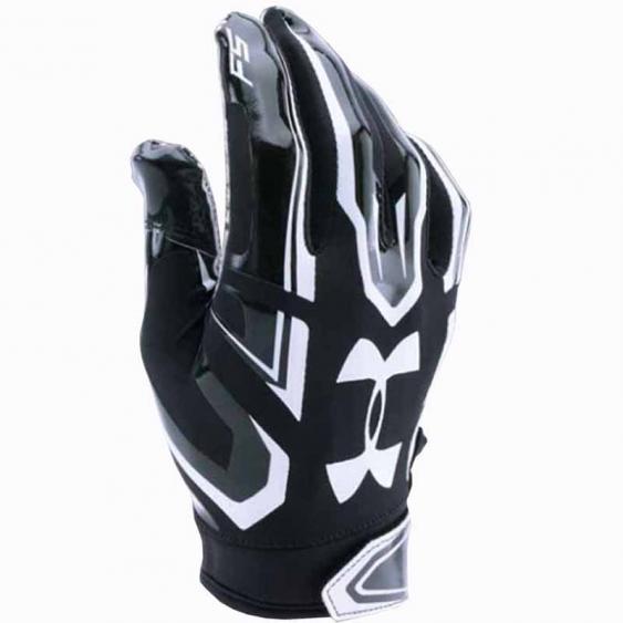 Under Armour F5 Glove Black / White 1271183-001 (Adult)