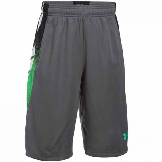 Under Armour Select Short Grey / Green 1290019-041 (Youth)