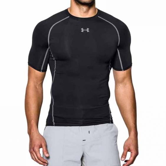 Under Armour HG Comp SS Tee Black 1257468-001 (Men's)