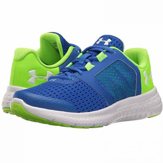 Under Armour Micro G Fuel RN Blue / Green / White 1285439-907 (Kids)