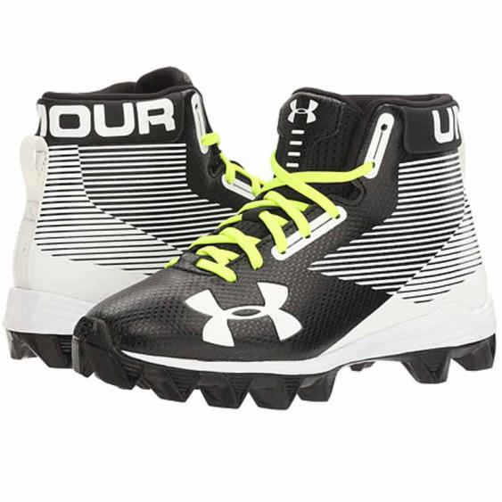 Under Armour Hammer Mid RM Black / White 1289783-011 (Youth)