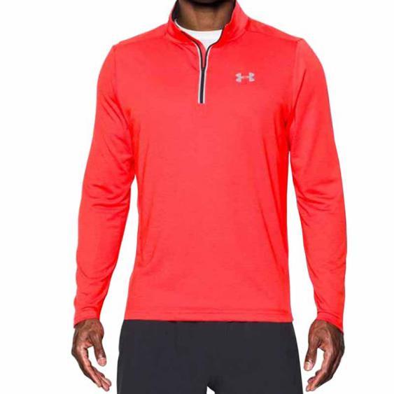 Under Armour Streaker Run 1/4 Zip Marathon Red / Black 1271851-963 (Men's)