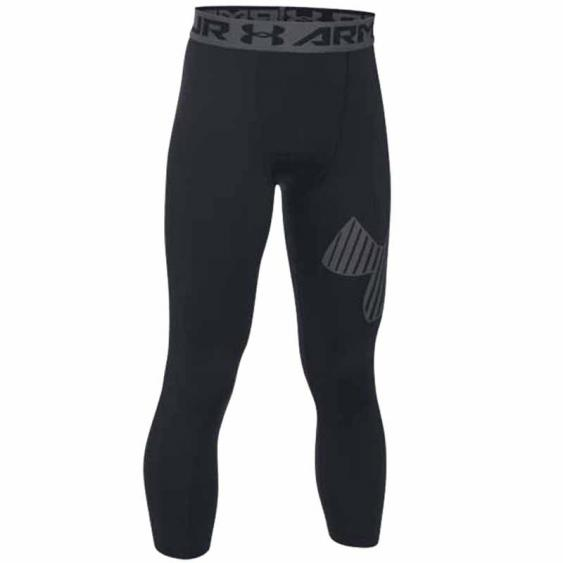 Under Armour 3/4 Logo Tight Black / Graphite 1289963-002 (YOuth)