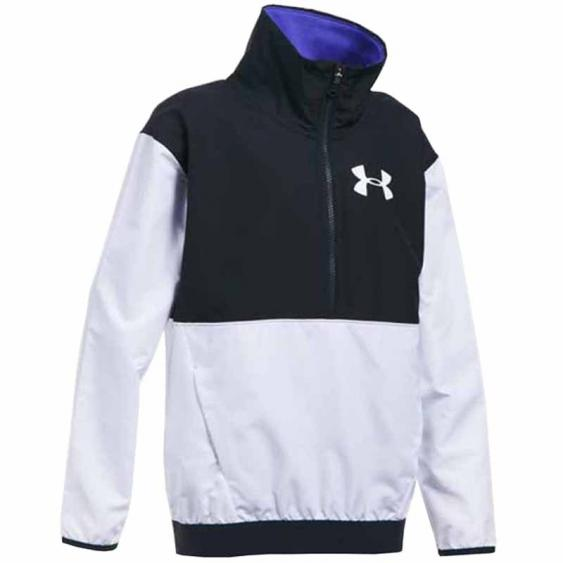 Under Armour Train 2 Game Jacket White / Black 1300099-100 (Youth)