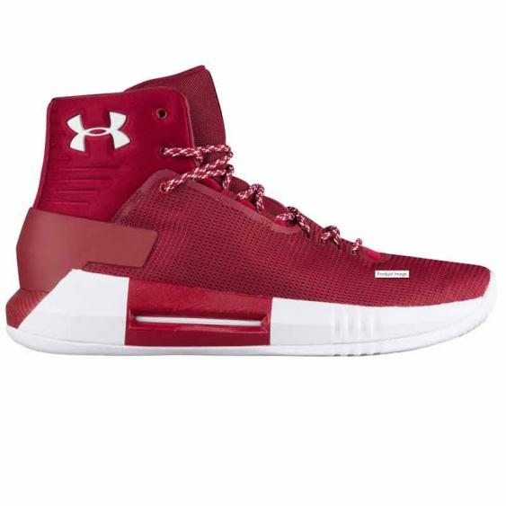 Under Armour Drive 4 Cardinal / White 1303010-606 (Unisex)