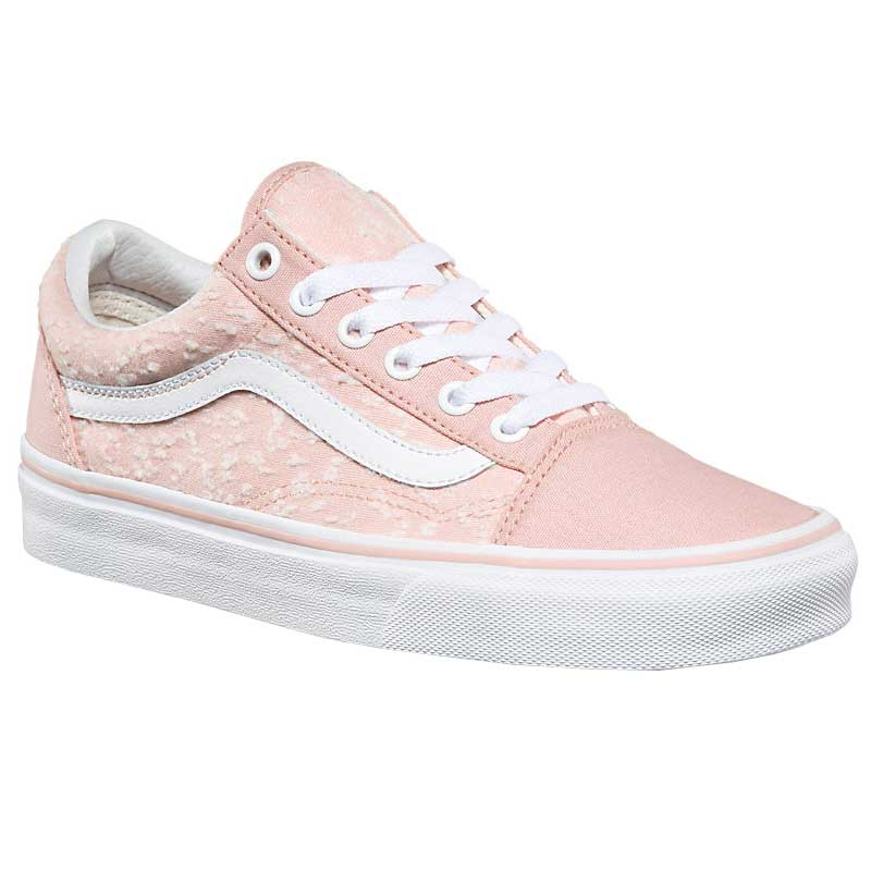Vans Old Skool Marled Canvas Evening Sand  True White ... d764658583e6