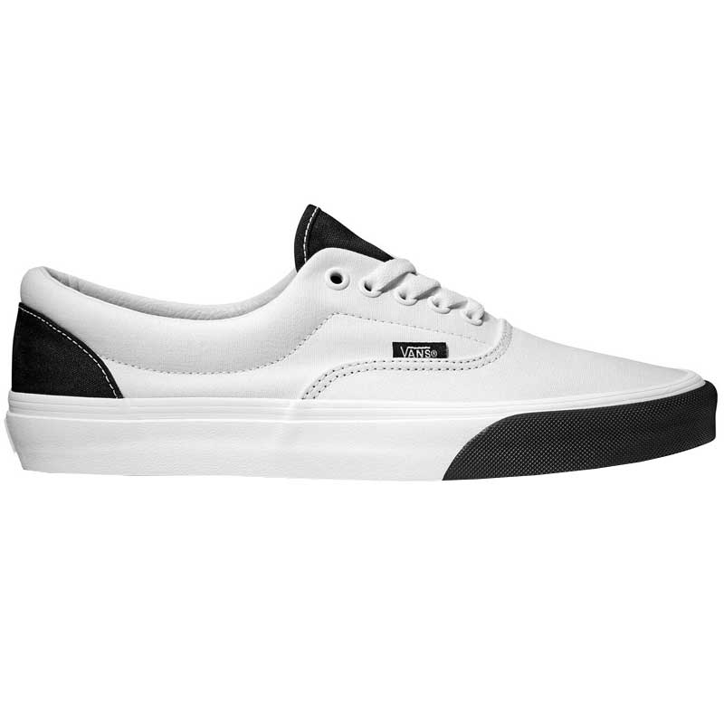 be6740977f08d2 Vans Era Color Block True white  Black VN0A38FRVOY (Men s). Loading zoom