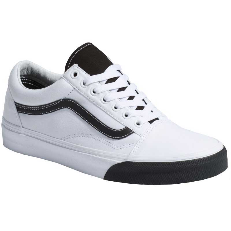 Vans Old Skool Color Block True White  Black VN0A38G1VOY (Men s) 9c3378373