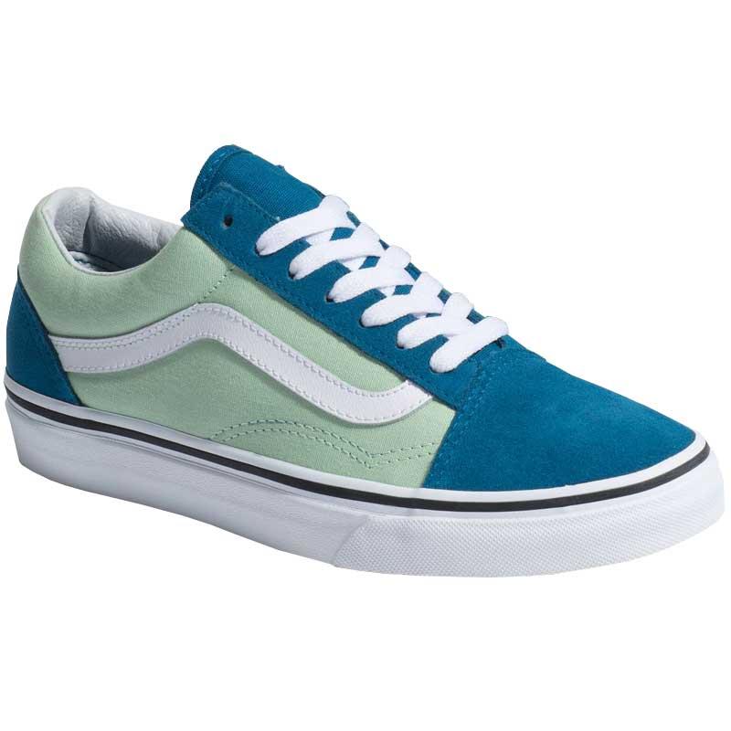 Vans Old Skool 2-Tone Blue Sapphire  Pastel Green VN0A38G1VOK ... b13455d69