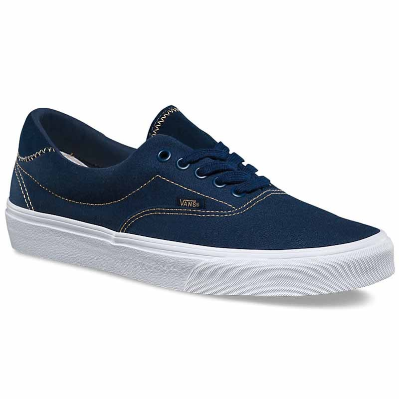 Vans dress blue white