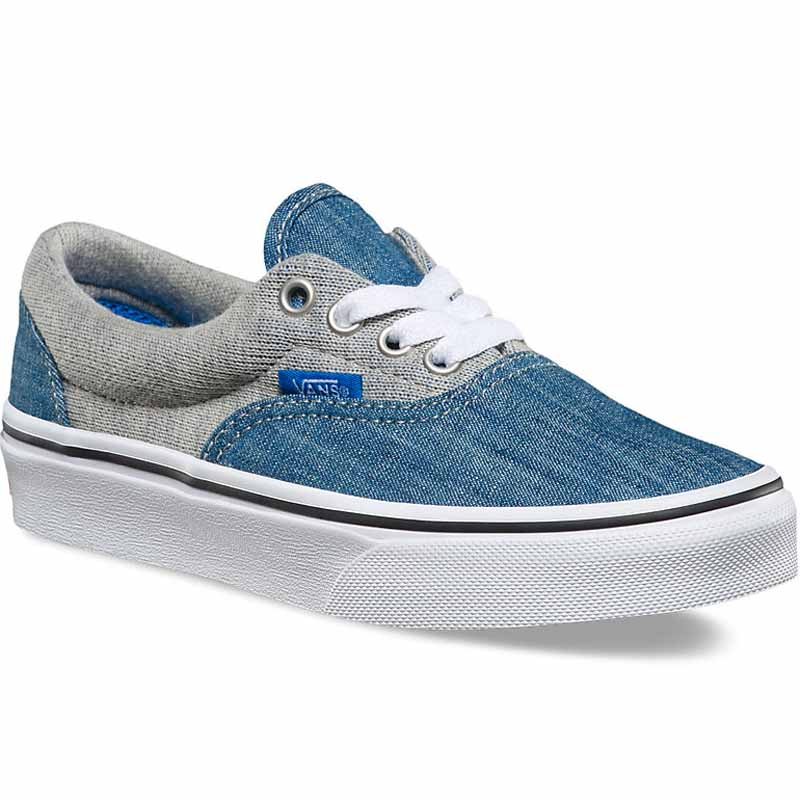 Vans Era Jersey Denim Imperial Blue   White VN0A38H8MMG (Youth) 01f67a1df