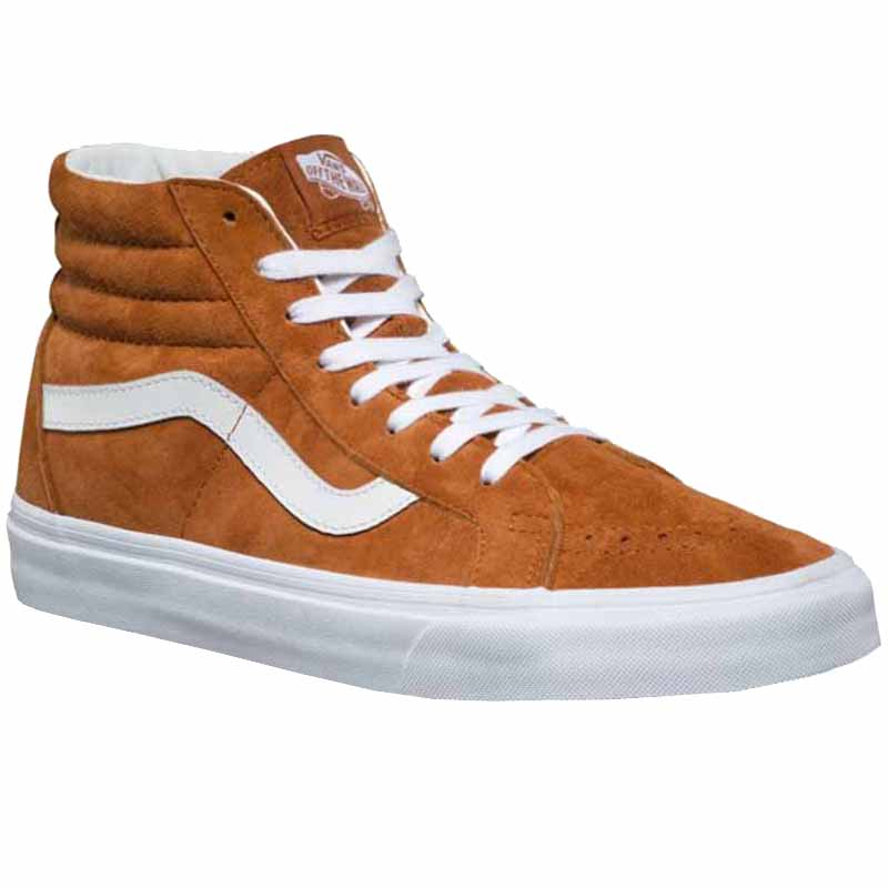 Vans SK8-Hi Reissue Pig Suede Leather Brown VN0A2XSBU5K (Men s). Loading  zoom 3734f207e