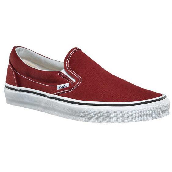 Vans Classic Slip-On Madder Brown/ True White VN038F7OVK (Men's)