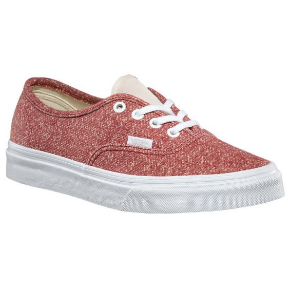 Vans J & S Authentic Tibetan Red/ Ture White VN0A38EMOEF (Women's)