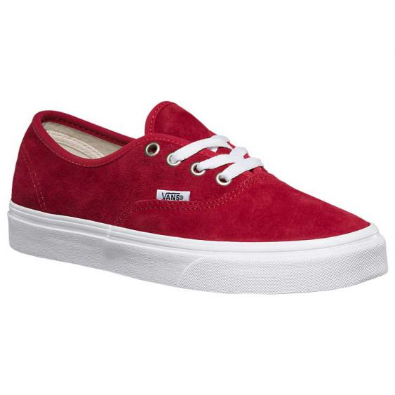 Vans Authentic Pig Suede Scooter/ True White VN0A38EMU5M (Women's)