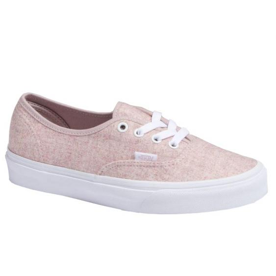 Vans Authentic (Flannel) Violet Ice/ True White VN0A38EMUKA (Women's)
