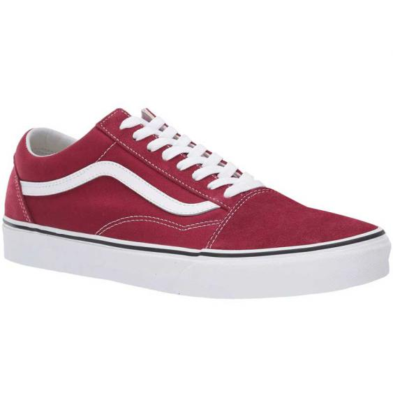 Vans Old Skool Rumba Red/ True White VN0A38G1VG4 (Men's)