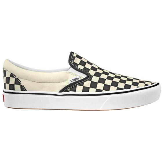 Vans Comfy Cush Slip-On Black Checkerboard/ True White VN0A3WMDVO4 (Men's)
