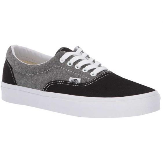 Vans Era Chambray Canvas Black/ True White Vn0A38FRVJ6 (Men's)