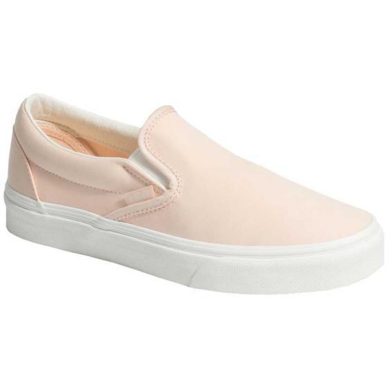 Vans Classic Slip-On Brushed Twill Vanilla Cream/ Snow White VN0A38F7VLQ (Women's)