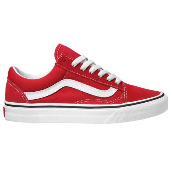 Vans Old Skool Racing Red/ True White VN0A4BV5JV6 (Women's)