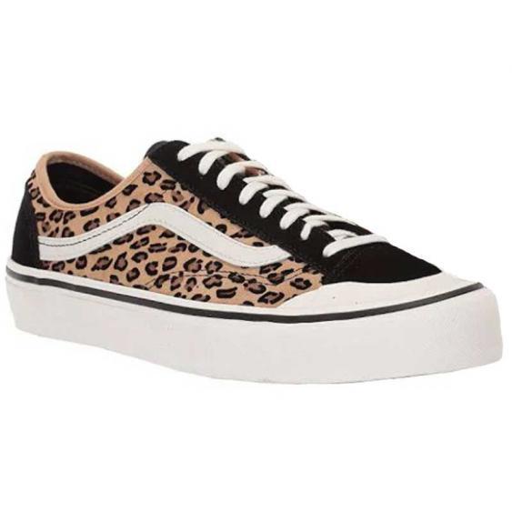 Vans Style 36 Decon SF Mini Leopard Suede/ Marshmallow VN0A3MVLTTS (Women's)