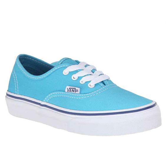 Vans Authentic Cyan Blue / White VN-0ZUQFRY (Youth)