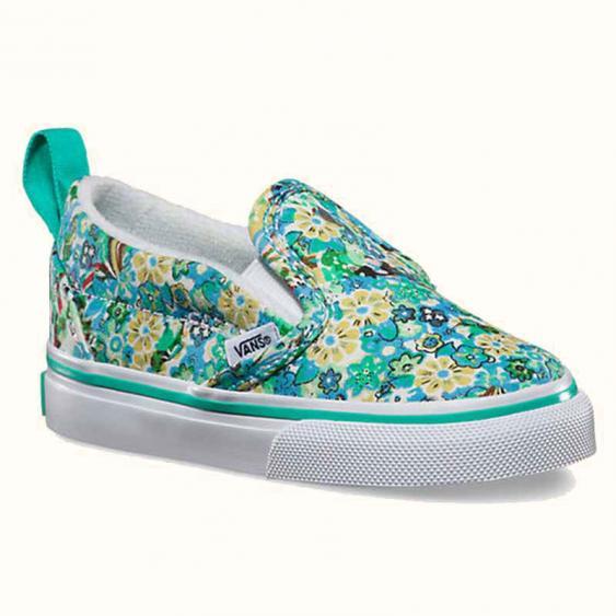 Vans Slip On Floral / Green VN-0UBSFEC (Infant)