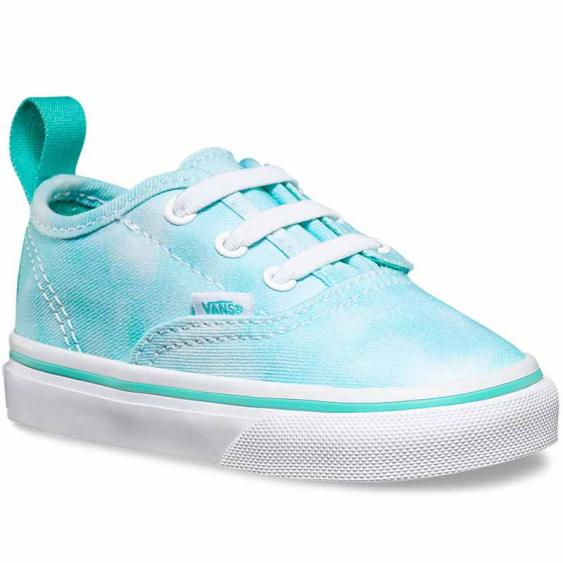 Vans Authentic V Lace Tie Dye Turquoise VN-0004KPIWE (Infant)