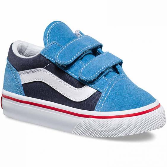 Vans Old Skool V Cendre Blue / Parisian Night VN0A344KMMR (Infant)